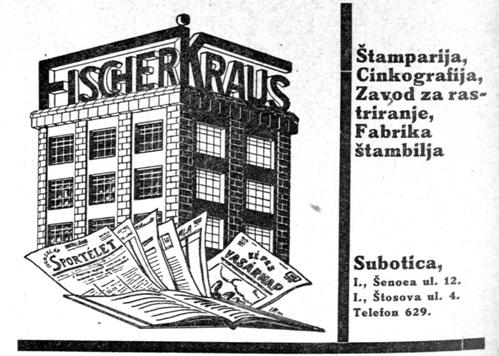 Fiser Kraus subotica