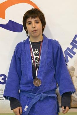 Luka Franovic medalja judo