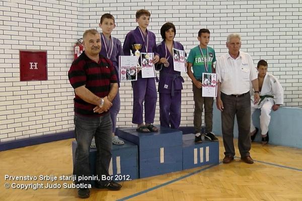 Luka Franovic Judo Subotica