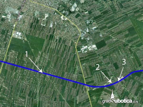 Y Krak Mapa Gradsubotica