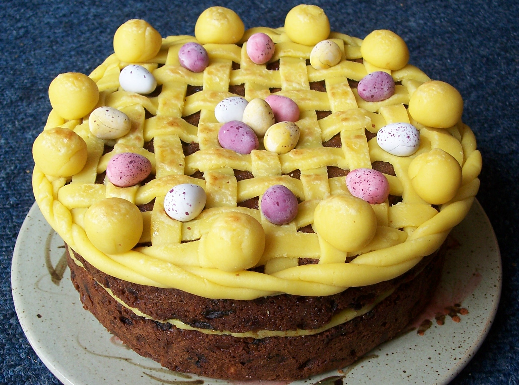 Simnel torta