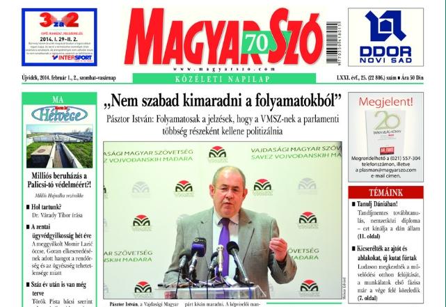 magyar-szo-naslovna