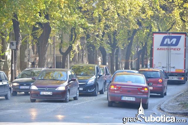 Saobracaj kolaps Subotica Zagrebacka Preradoviceva (1)
