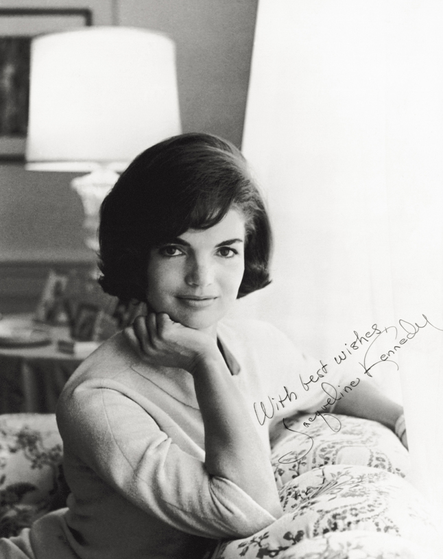 Mandatory Credit: Photo by Mondadori Collection/UIG/REX (2518840a) Photo of Jacqueline Kennedy History