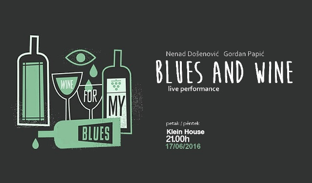 wine and blues