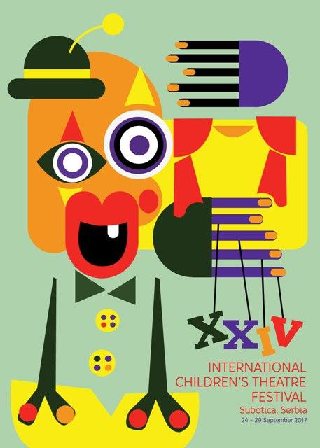 Plakat_24. Medjunarodni fetstival pozorista za decu u Subotici