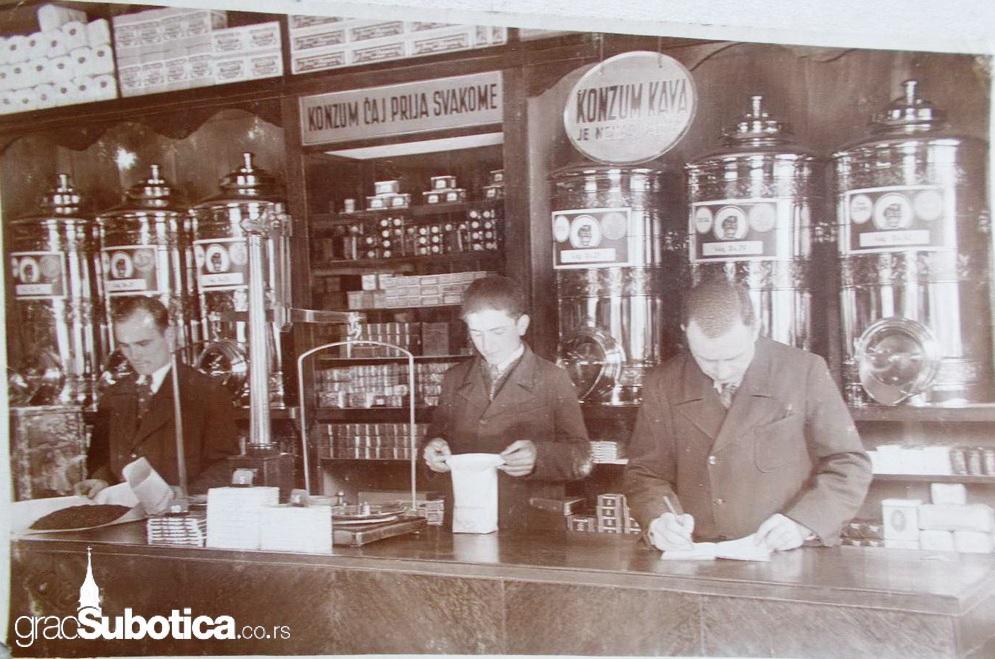 prodavnica kafe konzum subotica